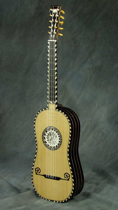 French Baroque Model Guitar