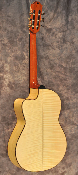 D'Aquisto Nylon Jazz Guitar - back